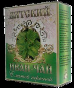 Вятский Иван-Чай с мятой, 100 г