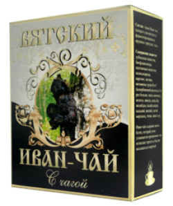 Вятский Иван-Чай с чагой, 100 г