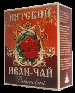 Вятский Иван-Чай с рябиной красной, 100 г