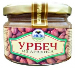 Урбеч из арахиса, 250 г, ДИДО