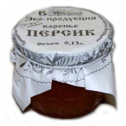 Варенье персиковое, 130 гр, Восхождение