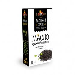 Масло семян чёрного тмина (70% тмин), 250 мл, Масляный Король
