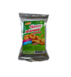 Чипсы яблочные хрустящие с медом и корицей, 25 гр