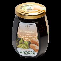 Варенье из сосновых шишек с имбирем, 250 гр, Емельяновская биофабрика