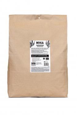 Мука пшеничная цельнозерновая БИО, 5 кг, Черный Хлеб