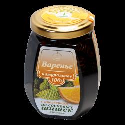 Варенье из сосновых шишек с апельсином, 250 гр, Емельяновская биофабрика