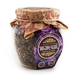 Сибирский Иван-Чай листовой с чабрецом и шалфеем, 100 г, банка