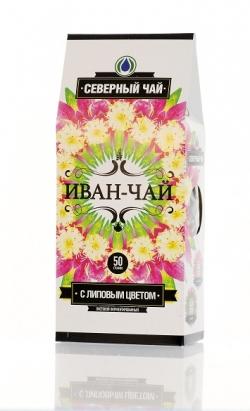 Иван-Чай северный с липовым цветом, 50 г