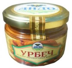 Урбеч из абрикосовых косточек, 230 г, ДИДО