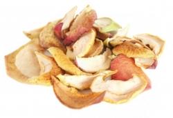 Яблоки сушеные без сердцевинки, 300 г