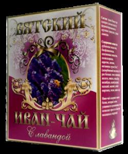 Вятский Иван-Чай с лавандой, 100 г