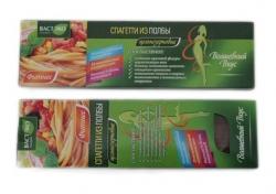 Спагетти из полбы цельнозерновые ФИТНЕС, 400 гр
