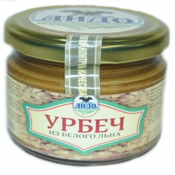 Урбеч из семян белого льна, 250 г, ДИДО