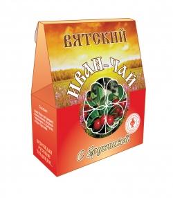 Вятский Иван-Чай с брусникой, 50 г