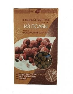 Готовый завтрак из полбы шоколадные шарики, 200 гр