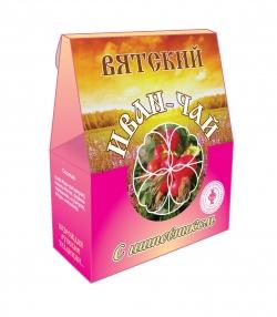 Вятский Иван-Чай с шиповником, 50 г