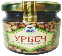 Урбеч из семян конопли, 250 г, ДИДО