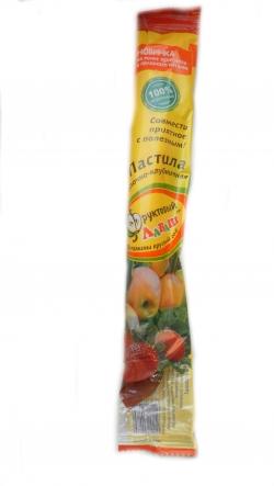 Пастила яблочно-брусничная, 35 гр