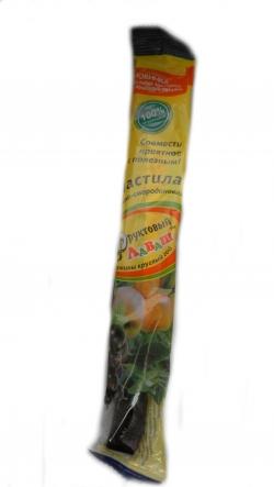 Пастила яблочно-смородиновая, 35 гр