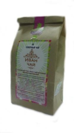 Северный Иван-чай зеленый крупнолистовой, крафт-пакет 50 г