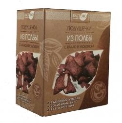 Подушечки из полбы с какао и молоком, 200 гр