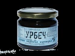 Урбеч из семян черного кунжута, 450 г, Живой продукт