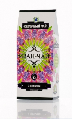 Иван-Чай северный с вереском в пирамидках, 30 г ( 15 шт. по 2 г)