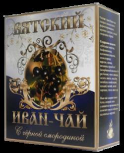 Вятский Иван-Чай с черной смородиной, 100 г