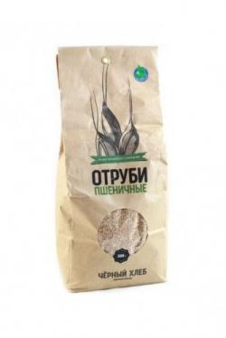 Отруби пшеничные БИО, 500 г, Черный Хлеб