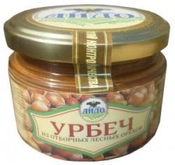 Урбеч из отборных лесных орехов, 250 г, ДИДО