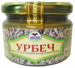 Урбеч из семян подсолнечника, 250 г, ДИДО