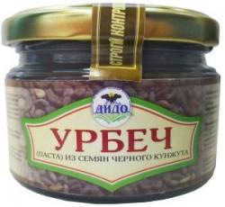 Урбеч из семян черного кунжута, 250 г, ДИДО
