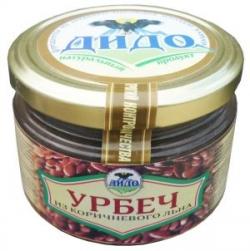 Урбеч из семян коричневого льна, 250 г, ДИДО