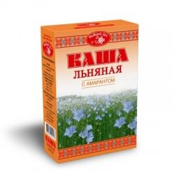 """Каша льняная """"Добрый лён"""" с амарантом, 400 гр, Масляный Король"""
