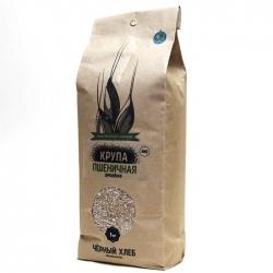 Крупа пшеничная БИО, 1 кг, Черный Хлеб