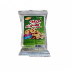 Чипсы яблочные хрустящие без добавок, 25 гр