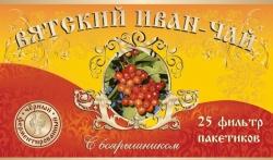 Вятский Иван-Чай с боярышником, 25 фильтр-пакетов, 50 гр