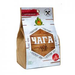 Чага чай с шиповником, 200 гр, Огнецвет