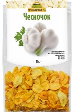 Чеснок сушеный кусочками, 50 гр, Здоровая еда