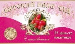 Вятский Иван-Чай с шиповником, 25 фильтр-пакетов, 50 г