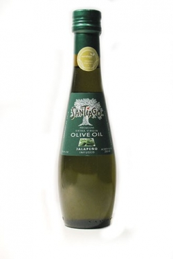 Оливковое масло Santiago Premium с халапенью, 250 мл, Чили,