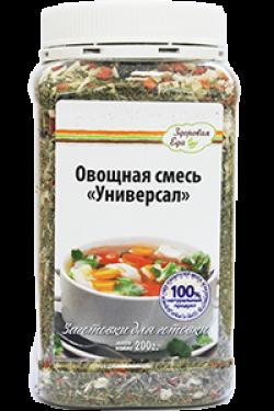 """Овощная смесь """"Универсал"""", 200 гр, Здоровая еда"""