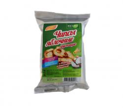 Чипсы яблочные хрустящие с медом и кокосовой стружкой, 25 гр
