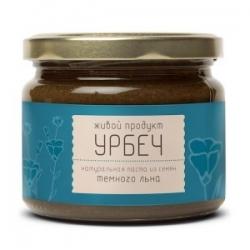 Урбеч из семян льна, 225 г, Живой продукт