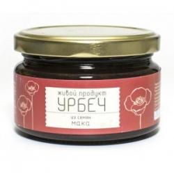 Урбеч из семян мака, 225 г, Живой продукт