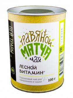 """Травяной Матча Чай """"Лесной витамин"""", 100 гр, Огнецвет"""