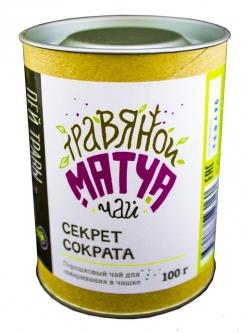 "Травяной Матча Чай ""Секрет Сократа"", 100 гр, Огнецвет"