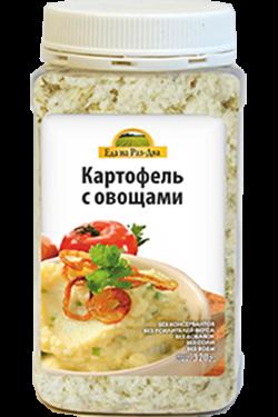 Картофельное пюре с овощами , 320 гр, Здоровая еда