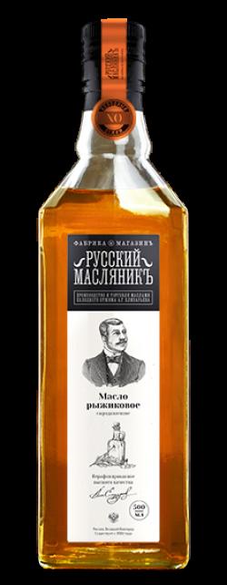 Масло рыжиковое, 500 мл, Русский Масляник