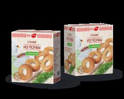 Сушки из ПОЛБЫ с укропом, 200 гр